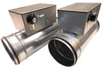 Luchtkanaal-verwarmers met elektrisch element